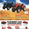 Tractors for sale at Tanaka Power